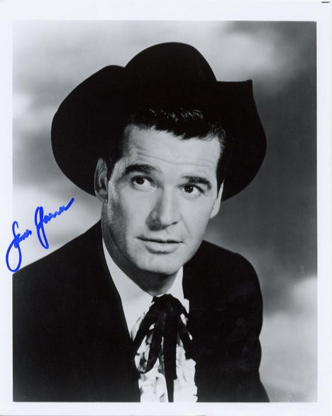 Garner, James - signed photo <b>SOLD</b>